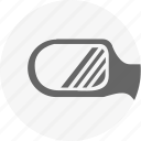 auto, back, car, look, mirror, safety, side icon