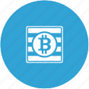 bank, bitcoin, cpu, money, sum icon