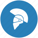 helmet, knight, roman, soldier icon