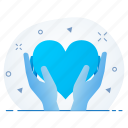 care, fitness, health, healthcare, heart, patient icon