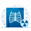 healthcare, medical, radiology, skeleton, xray icon