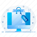 discount, ecommerce, offer, online, sale, tag icon