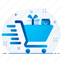 buy, cart, shop, shopping, store, trolley icon