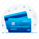 banking, card, credit, debit, pay, payment, shopping icon