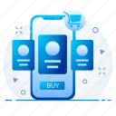 phone, mobile, user, profile, details, product icon