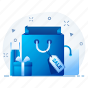 bag, baggage, ecommerce, shop, shopping, store icon