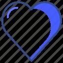 bookmark, favorite, health, heart, like, love, valentine icon
