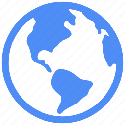 communication, earth, global, globe, internet, planet, world icon