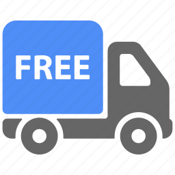 delivery, free, logistics, shipping, truck icon