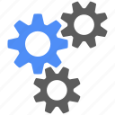 gear, gears, preferences, settings, tools, configuration, options icon
