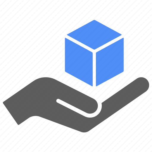 box, care, delivery, hand, logistics, shipping icon