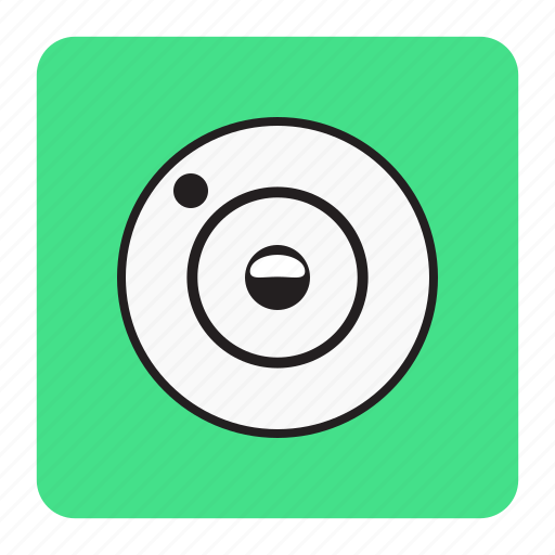 bg, blue, camera icon