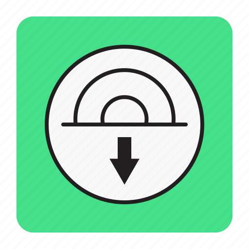bg, blue, download, instaler icon