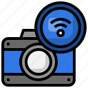 camera, connection, wifi, wireless, technology