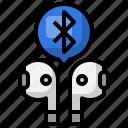 earbud, bluetooth, music, multimedia, audio