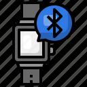smartwatch, technology, wireless, connection, bluetooth