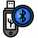 usb, data, storage, bluetooth, pendrive, technology