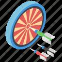 archery, bullseye, dartboard, lawn dart, shooting game, target game