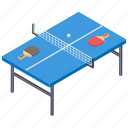 indoor game, sports, table tennis, ping pong, tennis game icon