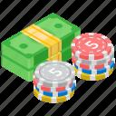 bet chip, casino coin, casino token, gambling, poker chip icon