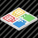 board game, dice game, gambling, luck game, ludo icon