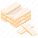 block stacking, building blocks, learning game, puzzle game, wood block game icon
