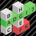 alphabetic puzzle, crossword, indoor game, number maze, puzzle game, sudoku