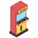 casino gaming, coin game, indoor game, modern arcade game, video game