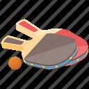 paddleball, pickleball, racket ball, sport, table tennis icon