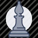 chess, piece, game, board, leisure, bishop