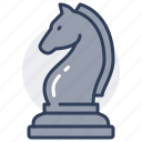 chess, piece, game, board, leisure, knight