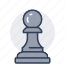 chess, piece, game, board, leisure, pawn