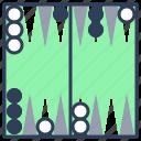 game, board, leisure, backgammon