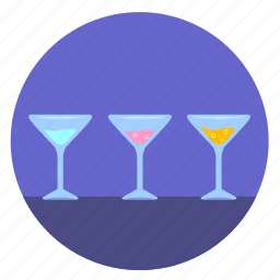 alcohol, bocals, cocktail, dishes, party, wineglass icon