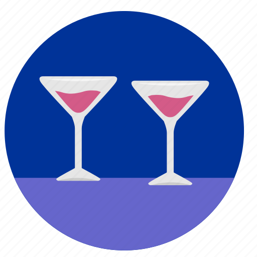 alcohol, bocals, dishes, drink, red, water, wineglass icon