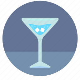 bocal, cocktail, drink, ice, tonic, water, wineglass icon