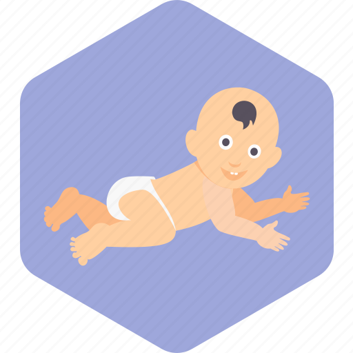 Baby, face, happy, infant, play, toddler icon - Download on Iconfinder