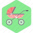 baby, buggy, hammock, newborn, toddler icon