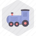 baby, infant, play, toddler, toy, train icon