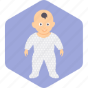 baby, clothes, stand, toddler, walk, wear icon