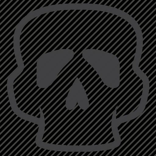 aid, body, head, healthy, medical, organ, skull icon