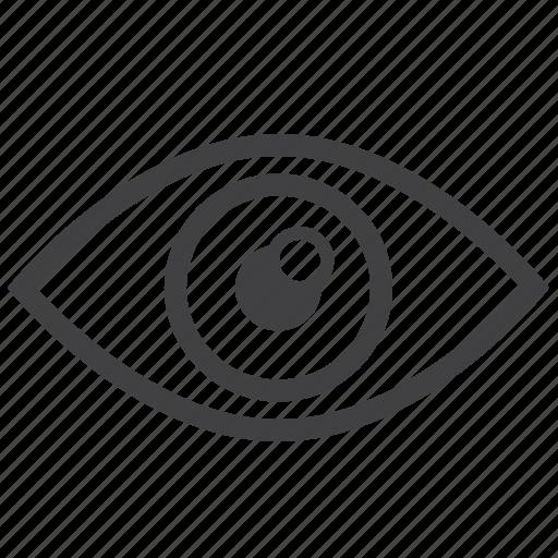 body, contact, doctor, eye, health, hospital, monitor icon