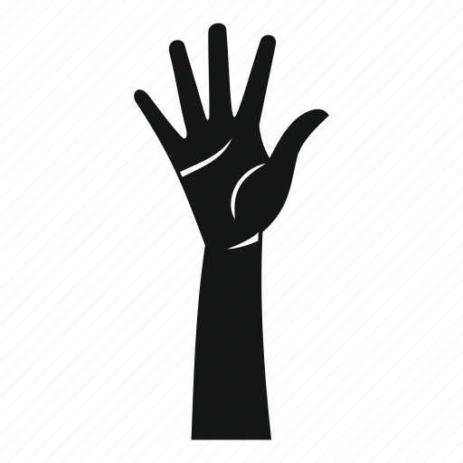arm, concept, finger, hand, human, palm, person icon