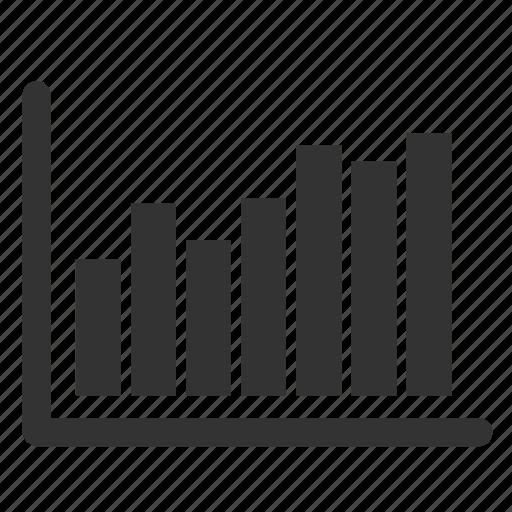 analytics, bar, chart, diagram, ecommerce, statistics, up icon