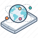 global connection, global network, globalization, international network, worldwide network icon