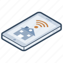 home automation, internet of things, smart home, smart technology, wireless technology icon