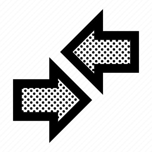 alternate, arrows, exchange, horizontal, versa, vice icon