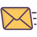 an important message, letter, message, prompt message, recognition, urgent message icon