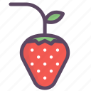 caring, dessert, food, fruit, romantic, strawberries, sweet icon