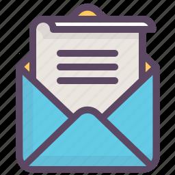 email, envelope, letter, mail, message, newsletter, valentine icon